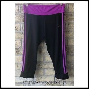 ADIDAS 3-Stripes Crop Tights